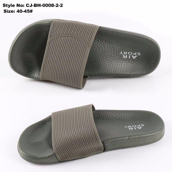 e1062d5201f3b5 China PVC Upper Men Sandal Custom Slippers Sandal - China Slipper ...