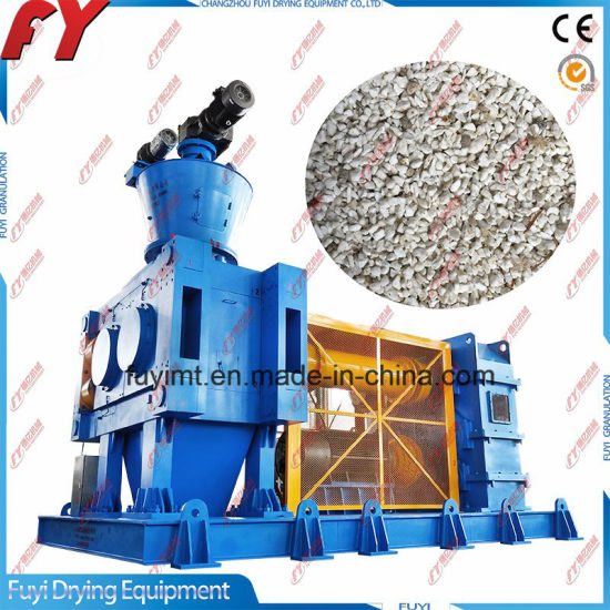 Ammonium chloride 2-5mm granules press pellet machine with CE certificate