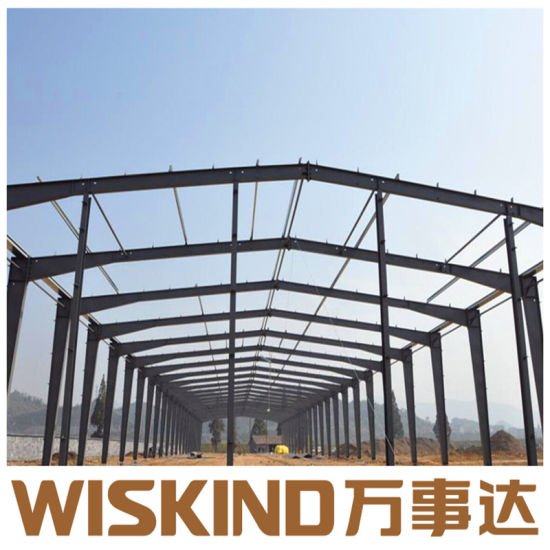 China Prefabricated Q235 Q345 Multi-Span Steel Structure