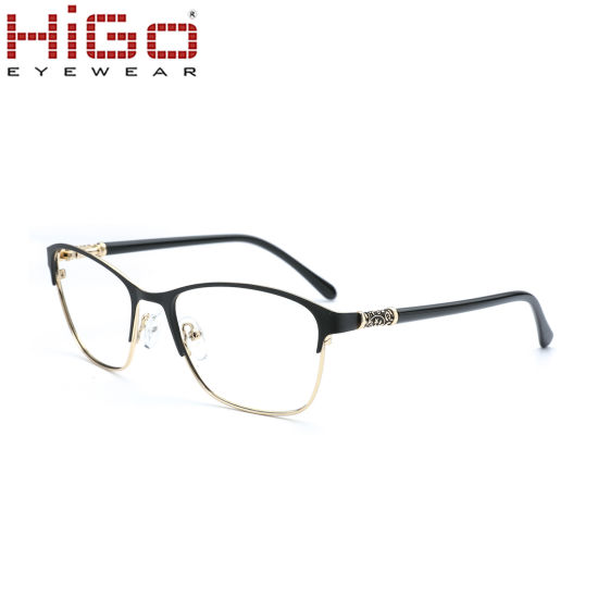 China Wholesale New Model Eyeglasses Metal Optical Frame