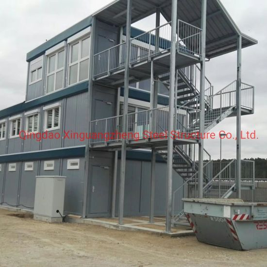 Low-Price Applicable Simple Board House Modified by Container