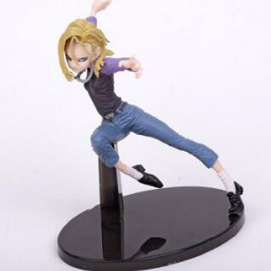 Hot Japanese Cartoon Figure Anime Figure Toy Android 18 Figure Dragon Ball 17cm pictures & photos