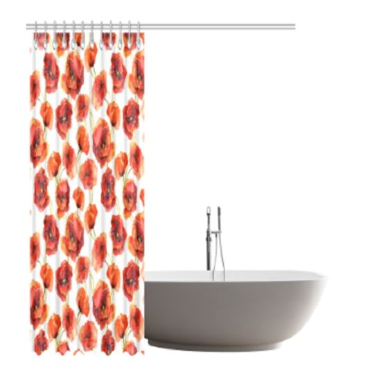 Print on Demand Shower Curtain pictures & photos