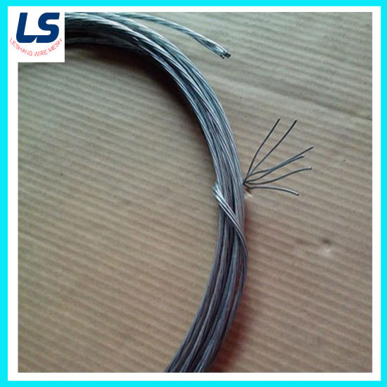 1X2, 1X3, 1X6, 1X7, 7X7 Strand Wire for Binding pictures & photos