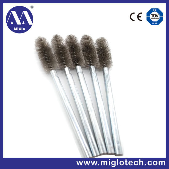 Customized Electric Tool Wholesale Bristle Brush Steel Wire Brush Tube Brush for Debarring Polishing Tools (TB-100121) pictures & photos