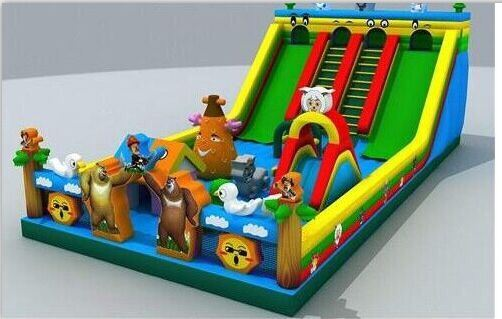 Inflatable Slide for Children Playing
