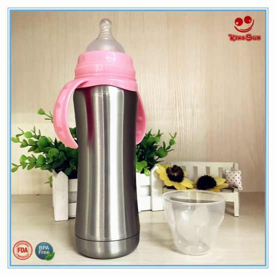 704e076dd China Best Stainless Steel Thermos Flask Milk Bottle 8oz - China ...