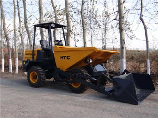 3.0ton Mini Site Dumper Truck with Self-Loading Bucket pictures & photos