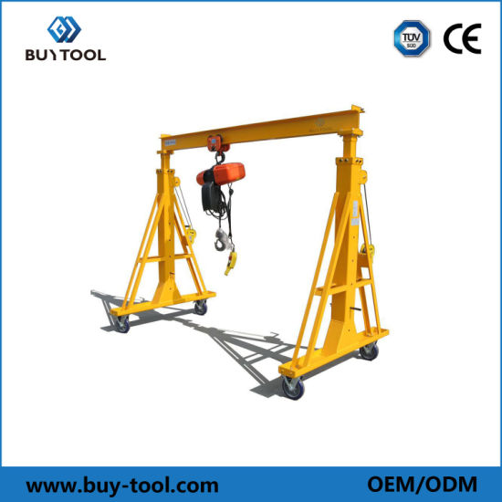 Light Gantry Crane with High Quality for Sale