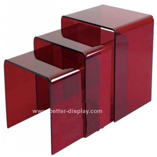 Custom Acrylic Modern Coffee Table (BTR-Q1005)