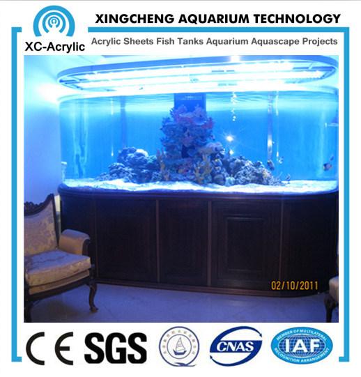 Customized Transparent Large UV Marine Acrylic Fish Tank Price
