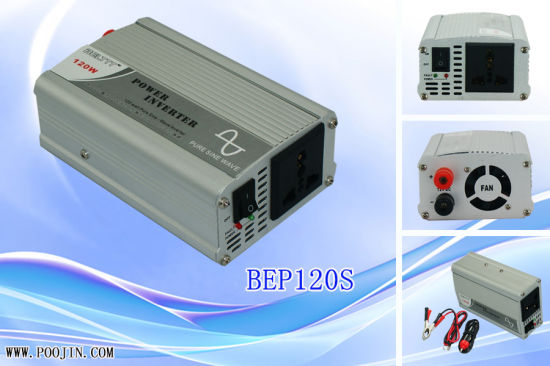 120W DC 12V to AC 220V Pure Sine Wave Power Inverter pictures & photos