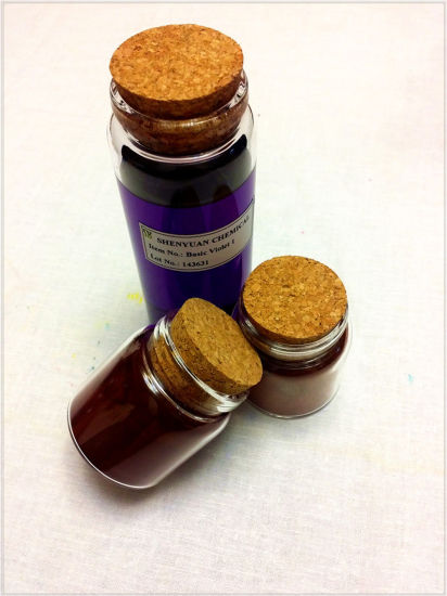 Dyestuff: Liquid Basic Violet (1) for Paper