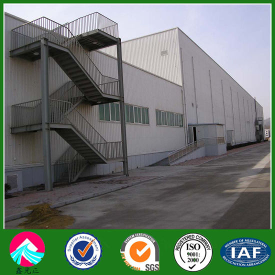 Insulated Steel Structure Industrial Buildings pictures & photos