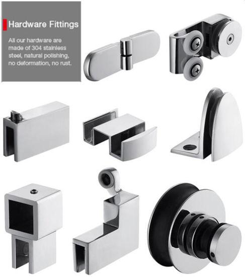china high quality glass shower door pivot shower enclosure shower