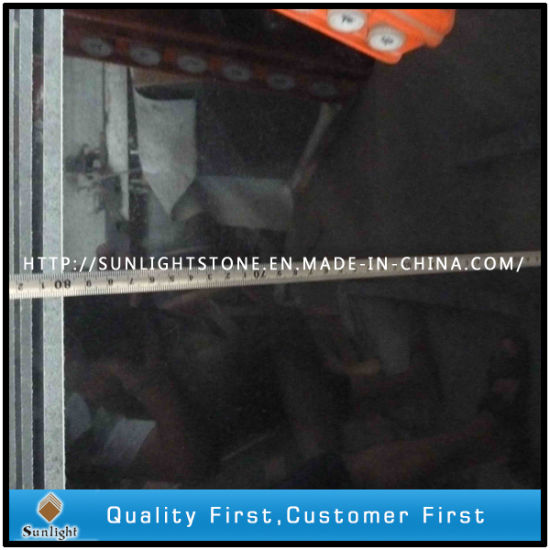 Absolute Polished Shanxi Black Granites for Floor Tiles, Countertops, Tombstone pictures & photos