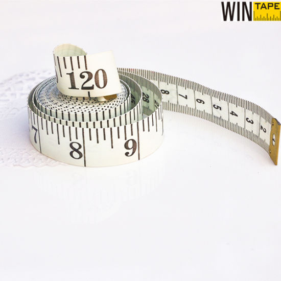 image about Measure Tape Printable titled 120inch Sewing Clothing PVC Smooth Line Printable 3m Measuring Tape
