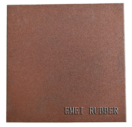 China Heavy Duty Commercial Rubber Flooring Tiles China High