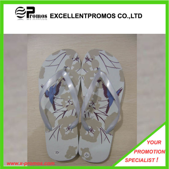 Cheap Customized Brand Printed EVA Slippers (EP-S9083) pictures & photos