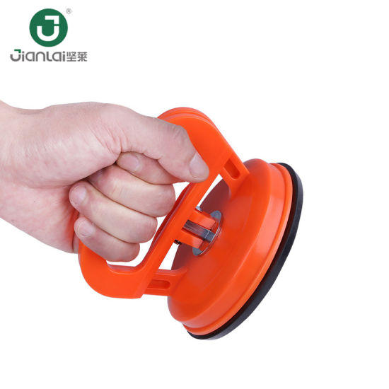 China Plastic Glass Suction Cup Floor Tile Sucker Handle Puller