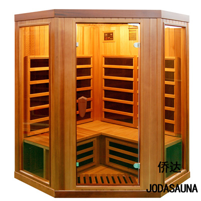 Far Infrared Steam Sauna House Cabin 3-4 Person Hotwind