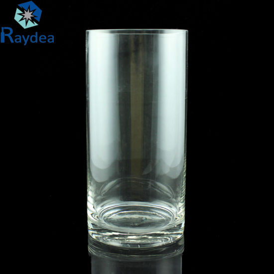 China Hot Sale High Quality Cylinder Glass Vase In Bulk China