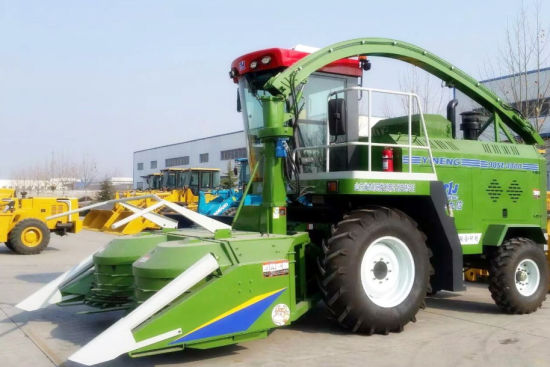 China 9qsz3000 Green and Yellow Forage Harvester