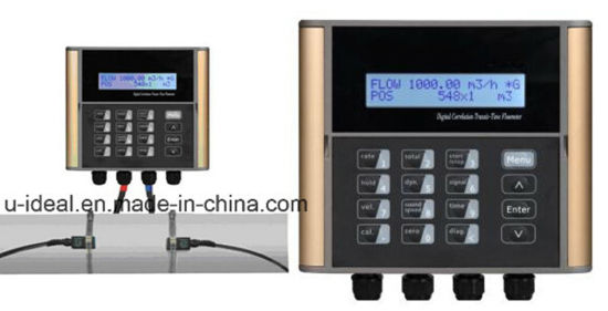 China Digital Ultrasonic Flowmeter-Ultrasonic Flow Sensors