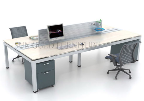 Superieur Manager Office Table/Aluminum Executive Office Desk/Office Furniture  (SZ OD136)