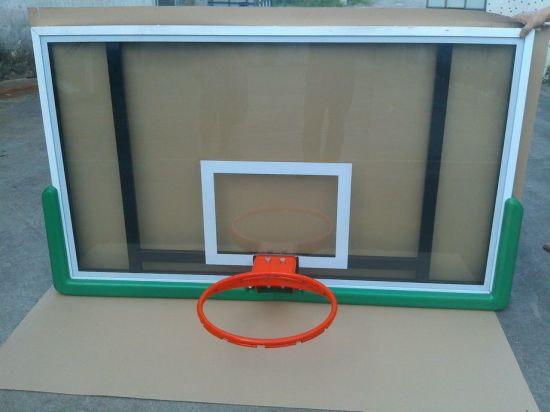 Aluminium Frame Tempered Glass Basketball Backboard pictures & photos