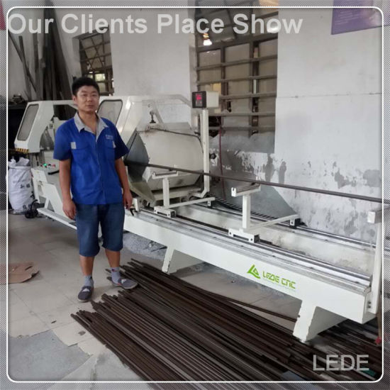 Mullion Cutting Machine V Shape Cut for UPVC Window and Doors pictures & photos
