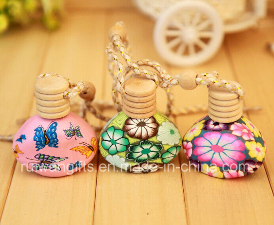 Wholesale Diffuser Wooden Car Air Freshener for Hanging Perfume