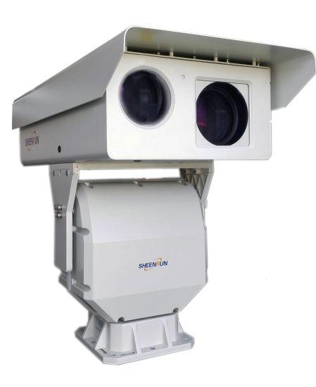 PTZ HD IP Dual Sensor Thermal Imaging Camera and Visible Camera for Border Defense