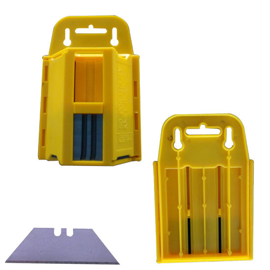 Trapezoid Spare Blades Dispenser (Pack of 50)
