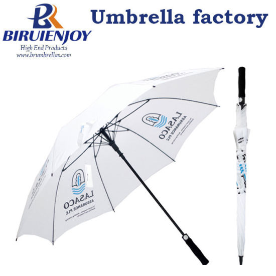 High Quality Golf Umbrella with Custom Logo Printing for Advertising/Promotion/Gifts