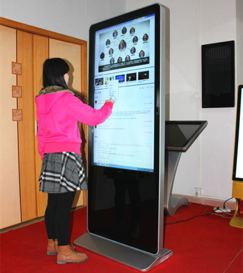 Full Sexy Video with Loop Viedo Touch LED Advertising Panels