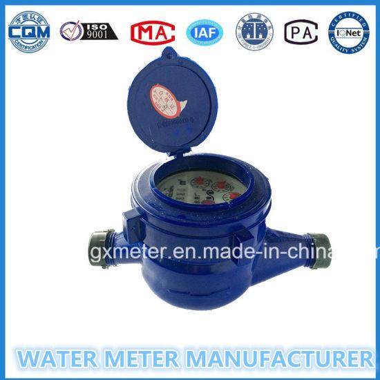 ABS Plastic Multi-Jet Type Water Meters of Dn15-20mm