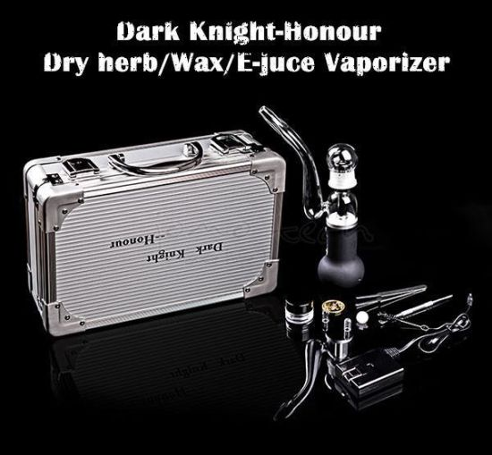 Customized and Good Quality Dark Knight Cbd Vaporizer for Wax pictures & photos