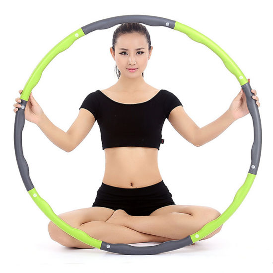 Collapsible Hula Hoop Fitness Padded Exercise Gym Workout Hola Hoops pictures & photos