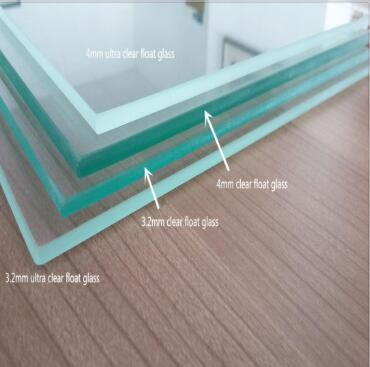 5mm/6mm/8mm/10mm/12mm Tempered Glass Panel with Rough Edge