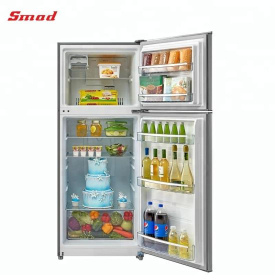 Home Use No Frost Double Door Refrigerator with SAA/Meps