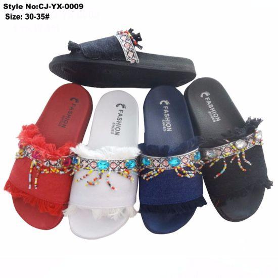 EVA Girl Shoes, Fashion Upper Design Girl Slide Sandal