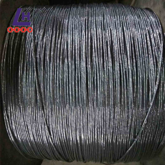 China 7*19 Electro Galvanized Steel Wire Rope - China Steel Wire ...