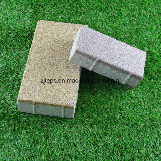 Water Absorbing/Non Slip Ceramic/Concrete Water Permeable Paving Brick for Car Park pictures & photos