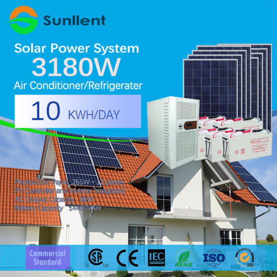 96V 4kVA AC110V/220V off Grid Home Use Solar Power System