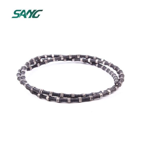China Diamond Slab Cutting Wire Saw D10 5mm - China Diamond