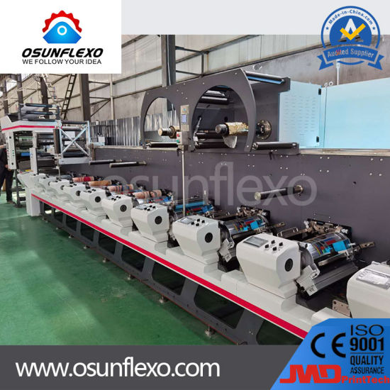 High Speed Multifunctional Combination Label and Film Flexography Printing Device Machine
