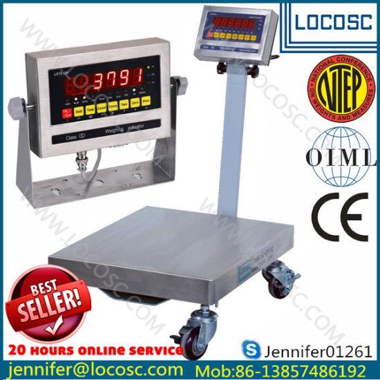 Electric Digital Platform Weighing Scale (100kg, 150kg 200kg 300kg, 500kg)