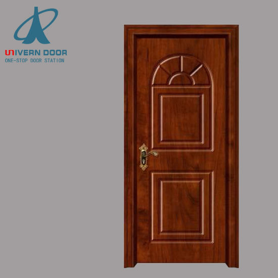 Hot Item Solid Teak Wood Carving Main Door Indian Polish Color Designs Photos