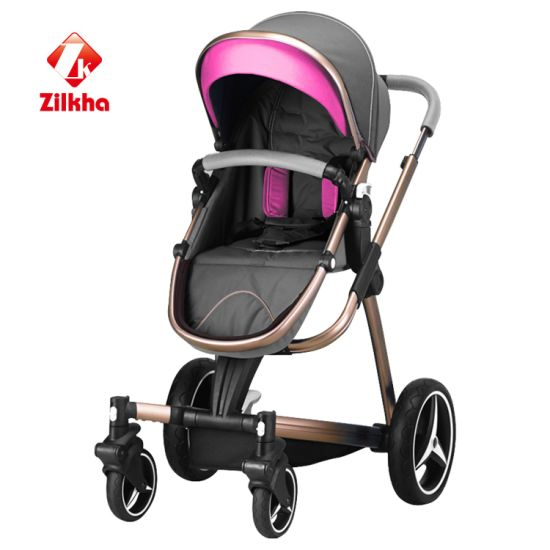 China High Landscape Stroller Frame + Stroller Seat - China Baby ...